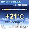 Ну и погода в Москве - Поминутный прогноз погоды